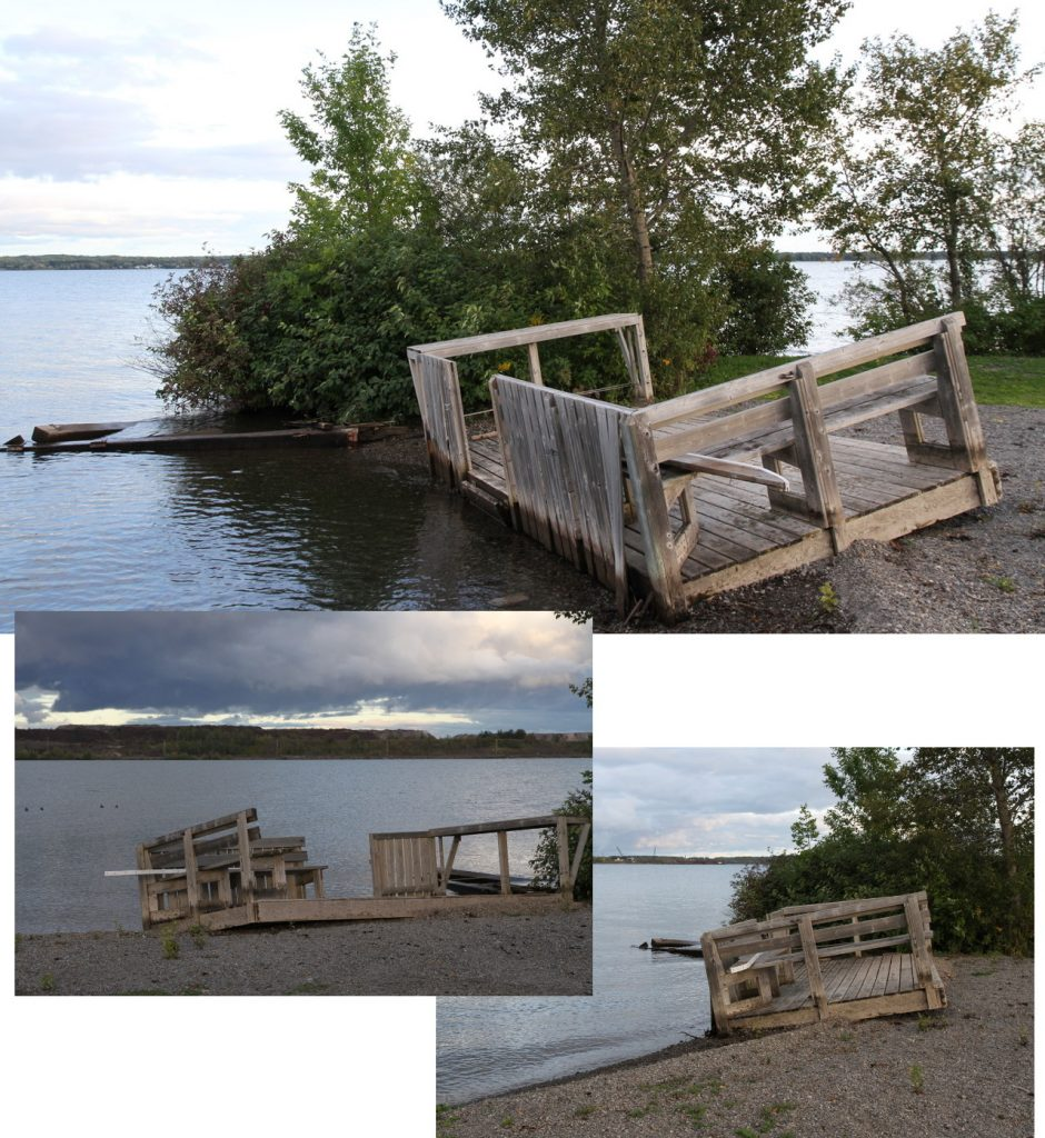 dock at waterfront